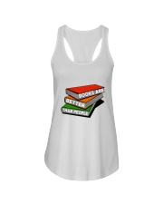 Book Are Better Than People Ladies Flowy Tank thumbnail