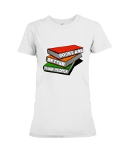 Book Are Better Than People Premium Fit Ladies Tee thumbnail