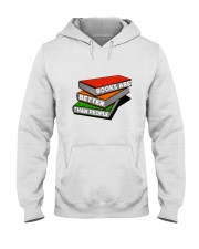 Book Are Better Than People Hooded Sweatshirt thumbnail