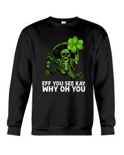 Eff You See Kay Why Oh You Crewneck Sweatshirt thumbnail