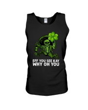 Eff You See Kay Why Oh You Unisex Tank thumbnail
