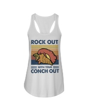 Rock Out With Your Conch Out Ladies Flowy Tank thumbnail