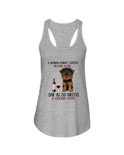 Yorkshire Terriers Dog Ladies Flowy Tank thumbnail