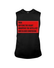 Yoga softens sharpens and clears mind Sleeveless Tee thumbnail