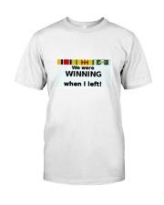 Winning in Viet Nam Classic T-Shirt front