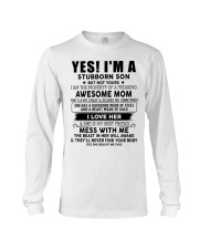 Special gift for Son AH00 Long Sleeve Tee thumbnail