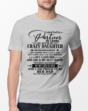 DAUGHTER TO DAD - D JANUARY Classic T-Shirt lifestyle-mens-crewneck-front-13