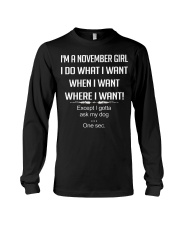 Queen are born in November - t11 Woman Long Sleeve Tee thumbnail