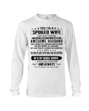 Gift for My Wife - CTUS01 Long Sleeve Tee thumbnail