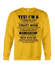 Perfect gift for son AH00 Crewneck Sweatshirt thumbnail