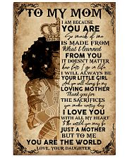 Special gift for mother - C 11x17 Poster front