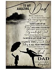 Happy Father's Day 11x17 Poster front