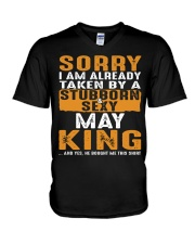 SORRY I AM ALREADY TAKEN - TAM05 V-Neck T-Shirt thumbnail