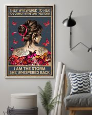THEY WHISPERED TO HER - A 11x17 Poster lifestyle-poster-1
