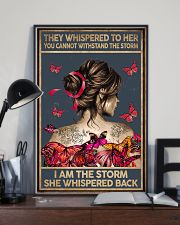 THEY WHISPERED TO HER - A 11x17 Poster lifestyle-poster-2