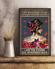 THEY WHISPERED TO HER - A 11x17 Poster lifestyle-poster-3