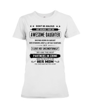 Perfect gifts for Mother- August Premium Fit Ladies Tee thumbnail
