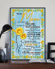 Special gift for MOM - DAUGHTER AND MOM 11x17 Poster lifestyle-poster-2