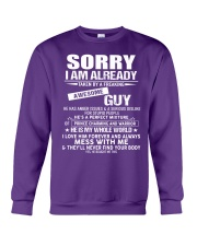 The perfect gift for your girlfriend - A00 Crewneck Sweatshirt thumbnail