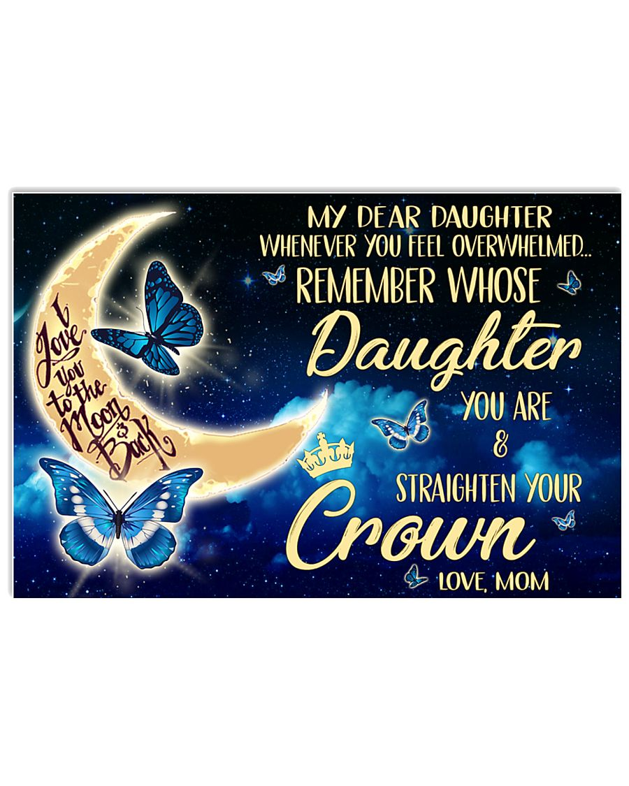 Special gift for daughter - C 80 17x11 Poster