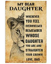 Special gift for daughter - C 239 11x17 Poster front