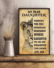 Special gift for daughter - C 239 11x17 Poster lifestyle-poster-3