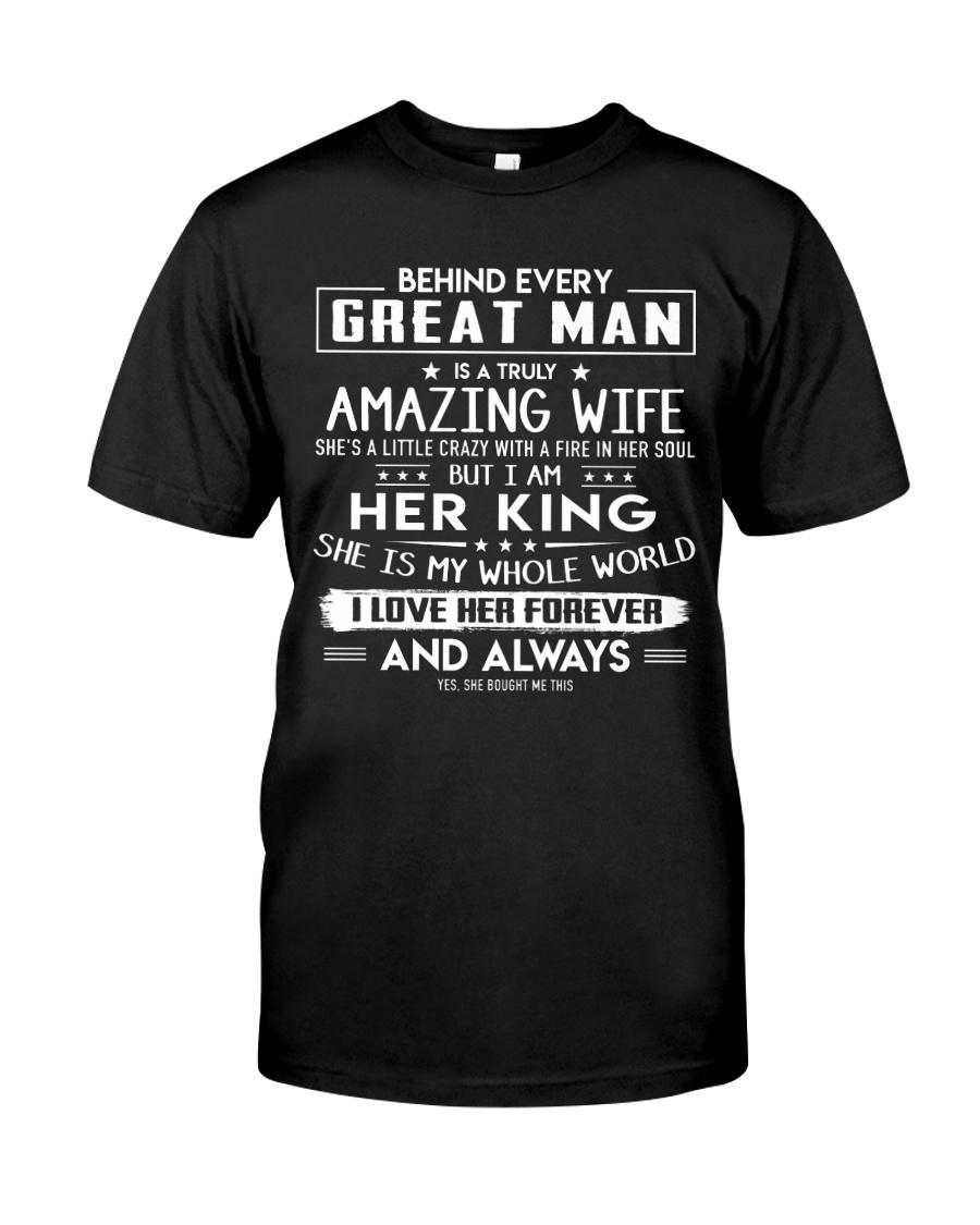 Valentine gift for husband - C00 Classic T-Shirt