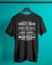 Valentine gift for husband - C00 Classic T-Shirt lifestyle-mens-crewneck-front-3