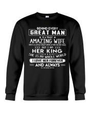 Valentine gift for husband - C00 Crewneck Sweatshirt thumbnail
