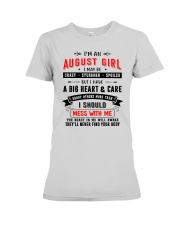 AUGUST GIRL Premium Fit Ladies Tee thumbnail