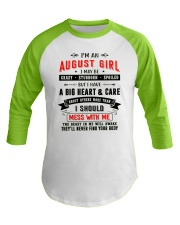 AUGUST GIRL Baseball Tee thumbnail