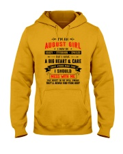 AUGUST GIRL Hooded Sweatshirt thumbnail