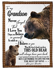 "My grandson remember how much i love you Small Fleece Blanket - 30"" x 40"" front"