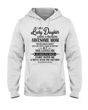 Special gift for Daughter- January Hooded Sweatshirt thumbnail