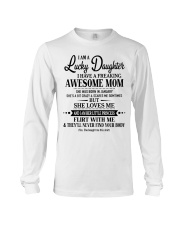 Special gift for Daughter- January Long Sleeve Tee tile