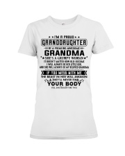 Special gifts for granddaughter AH00 Premium Fit Ladies Tee thumbnail