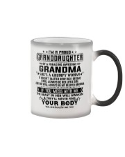 Special gifts for granddaughter AH00 Color Changing Mug thumbnail