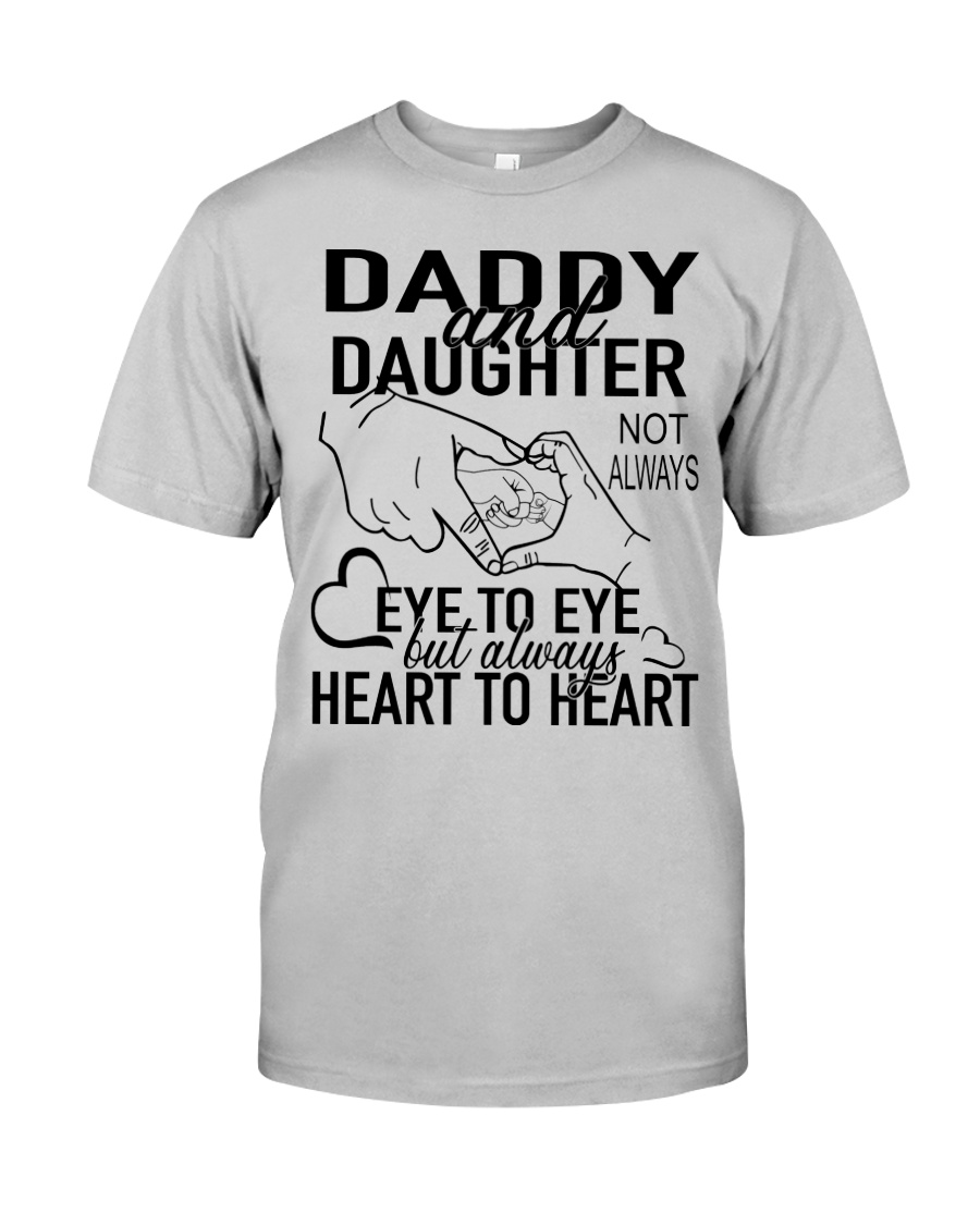 DADDY AND DAUGHTER AH79 Classic T-Shirt
