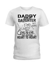 DADDY AND DAUGHTER AH79 Ladies T-Shirt thumbnail