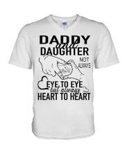 DADDY AND DAUGHTER AH79 V-Neck T-Shirt thumbnail