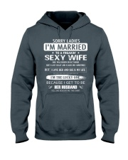 Sorry ladies - I'm married - OCTOBER Hooded Sweatshirt thumbnail