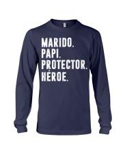 Husband - Daddy - Protector - Hero - Q-TBN Long Sleeve Tee thumbnail