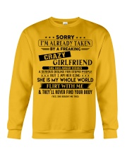 The perfect gift for BOYFRIEND Crewneck Sweatshirt thumbnail