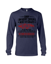 Sexy and Crazy girl - she was born in August Long Sleeve Tee thumbnail