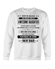 Perfect gifts for Father - October Crewneck Sweatshirt thumbnail