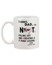Thanks dad for not pulling out and-creating legend Mug back