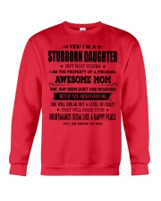Perfect gift for daughter S-0 Crewneck Sweatshirt thumbnail