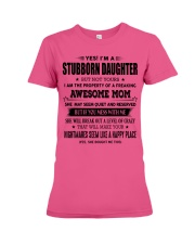 Perfect gift for daughter S-0 Premium Fit Ladies Tee thumbnail