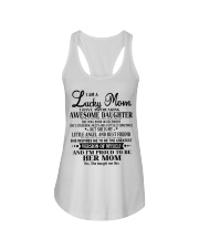 Perfect gift for Mom - Lucky Mom- December Ladies Flowy Tank thumbnail