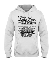 Perfect gift for Mom - Lucky Mom- December Hooded Sweatshirt thumbnail